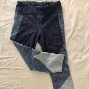 Gap gfast crop color block legging